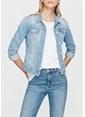 Mavi Jean Ceket Gri